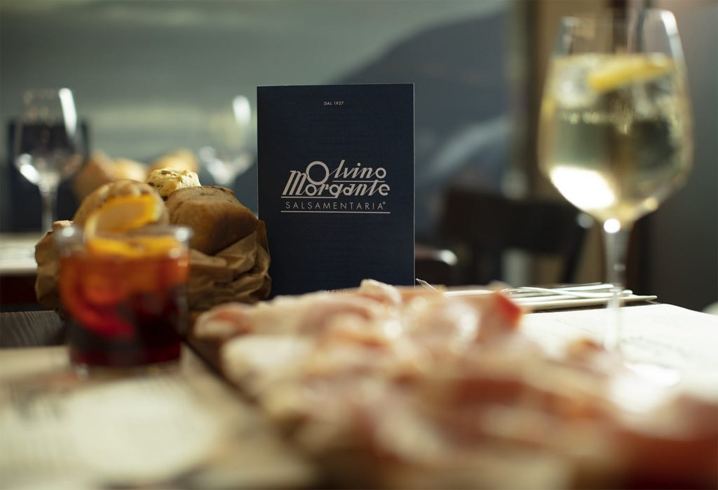 Il menu di Salsamentaria Olvino Morgante