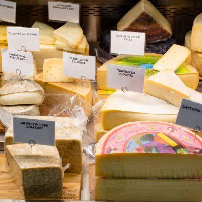 Salsamentaria Olvino Morgante - I formaggi